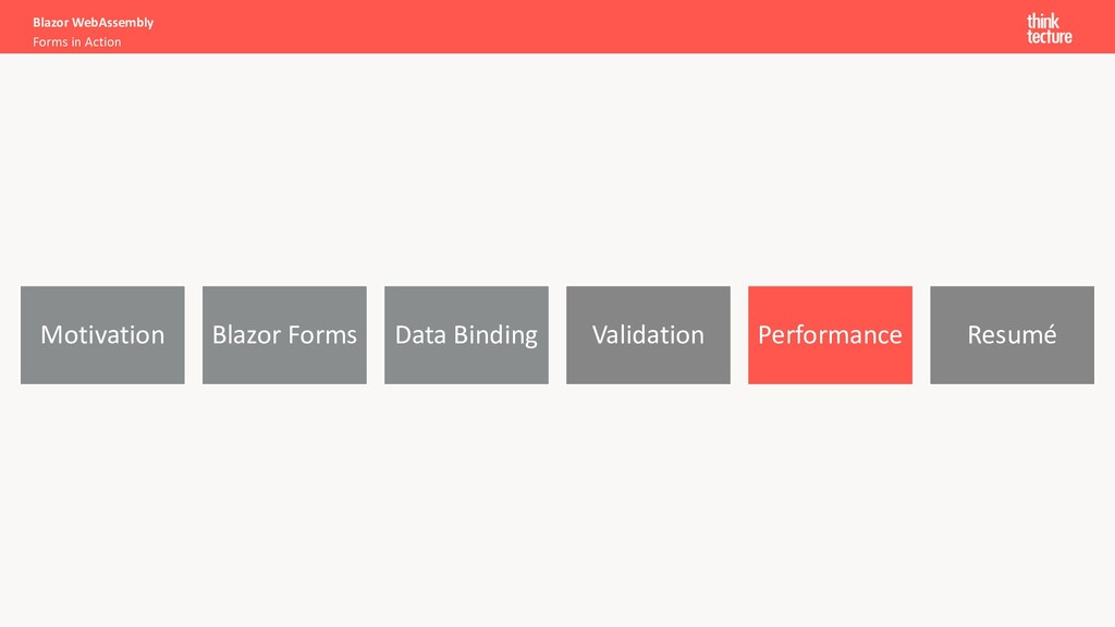 Motivation Blazor Forms Data Binding Validation...