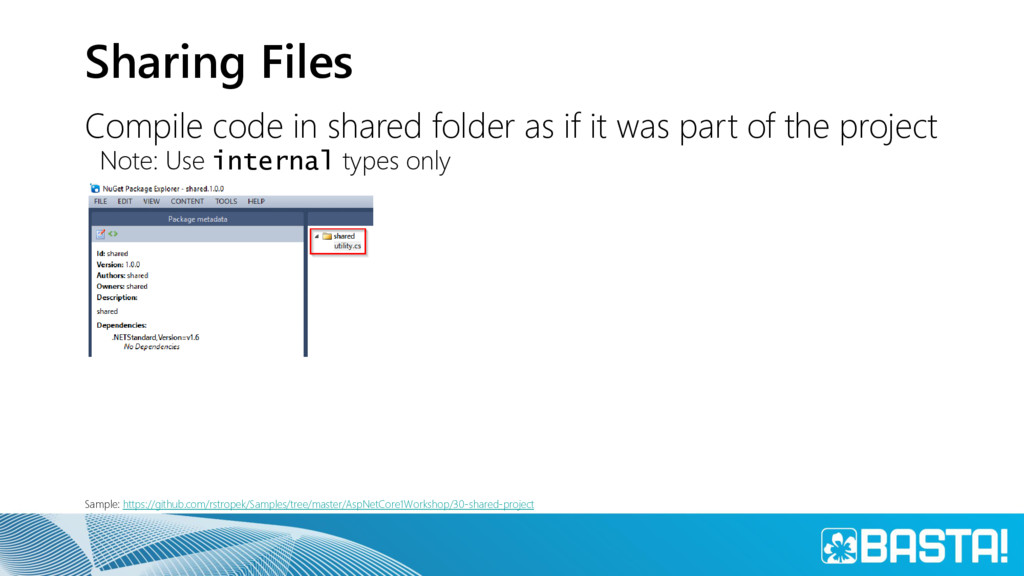 Sharing Files Compile code in shared folder as ...