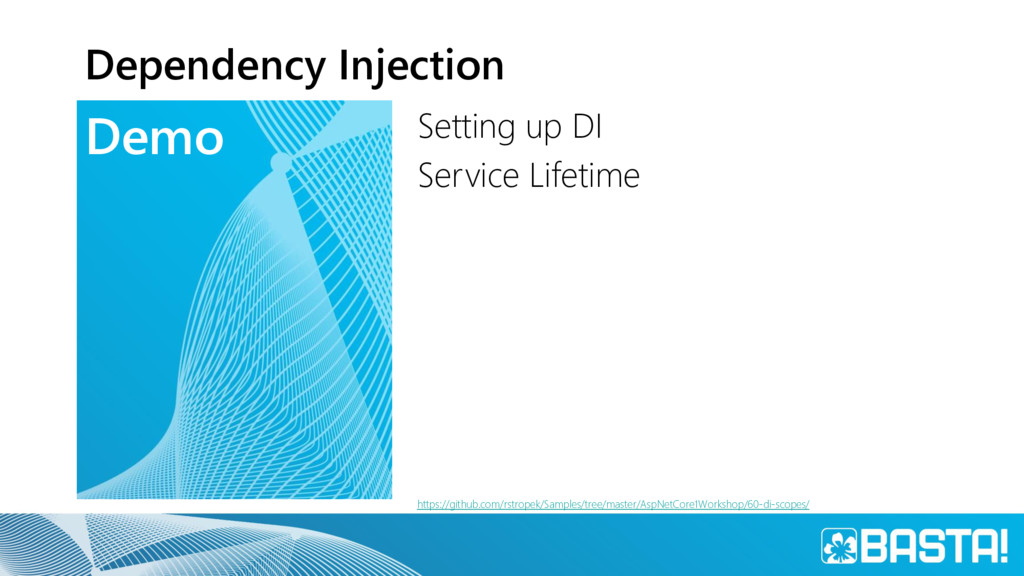 Demo Dependency Injection Setting up DI Service...