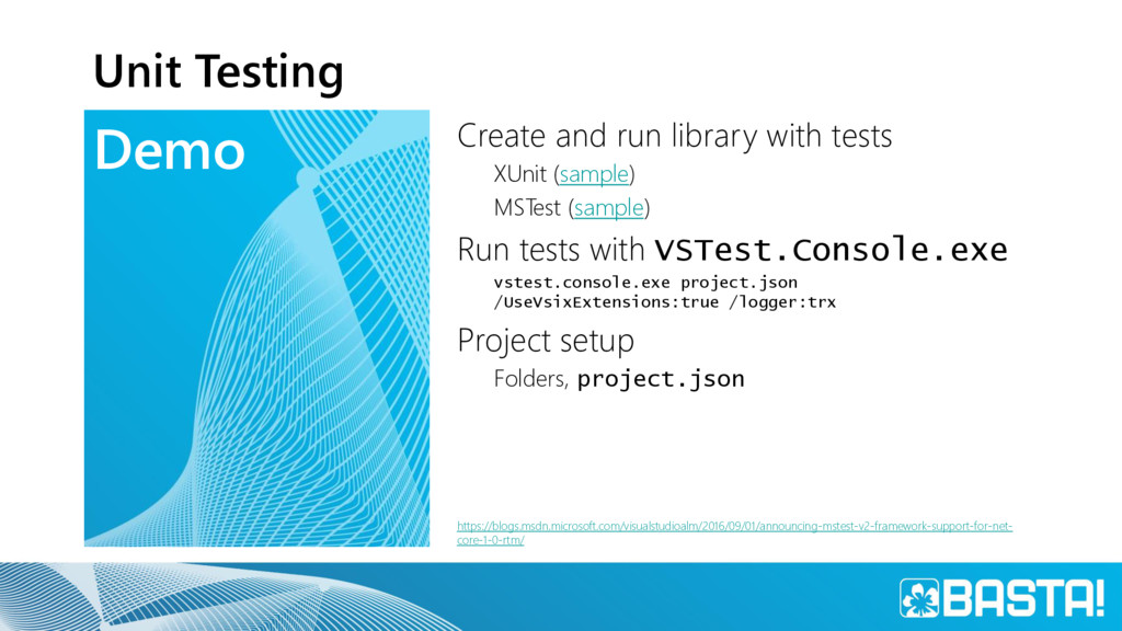 Demo Unit Testing Create and run library with t...