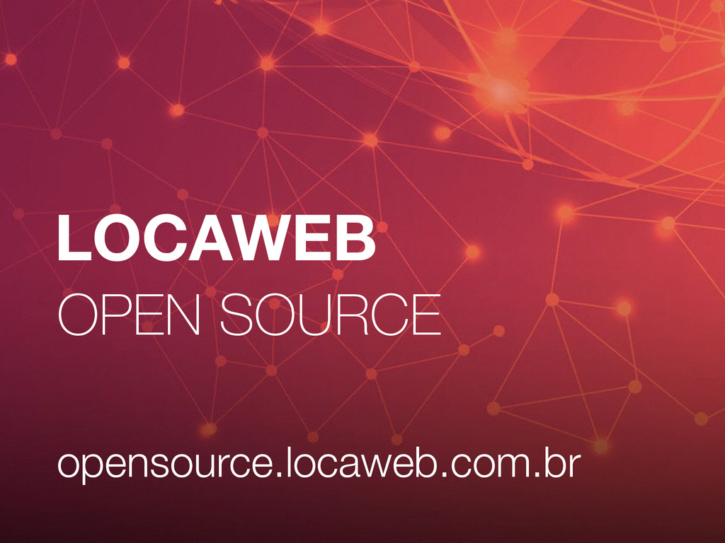 LOCAWEB OPEN SOURCE opensource.locaweb.com.br