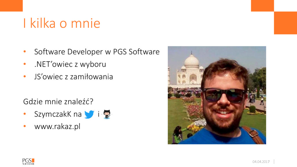 • Software Developer w PGS Software • .NET'owie...