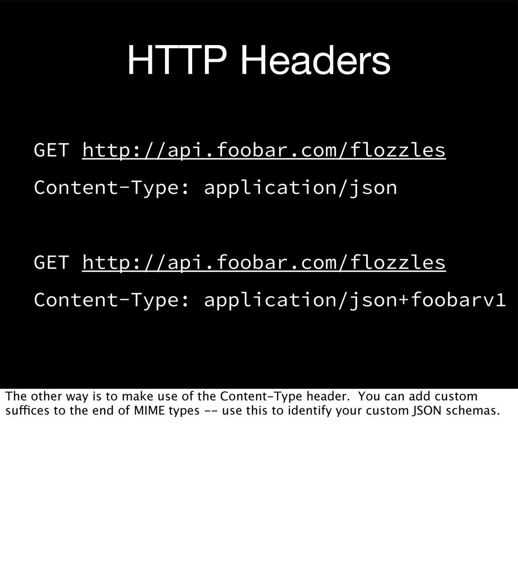 HTTP Headers GET http://api.foobar.com/flozzles...