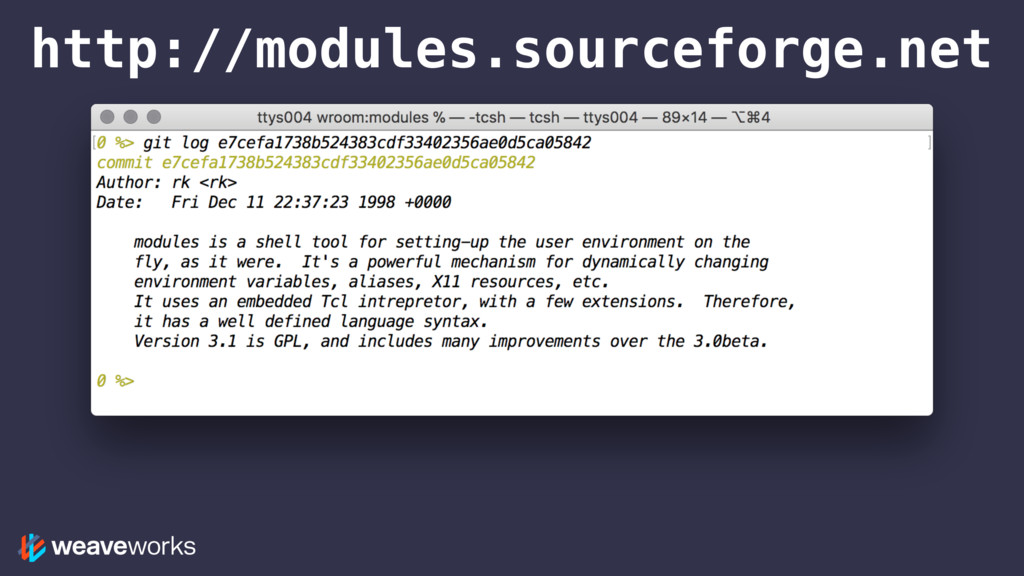 http://modules.sourceforge.net