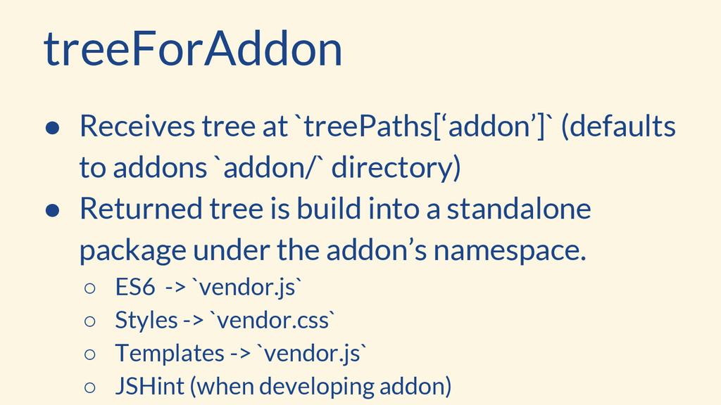 treeForAddon ● Receives tree at `treePaths['add...