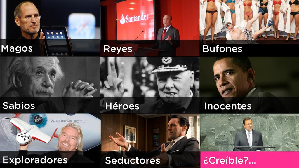 Magos Reyes Bufones Sabios Héroes Inocentes Exp...