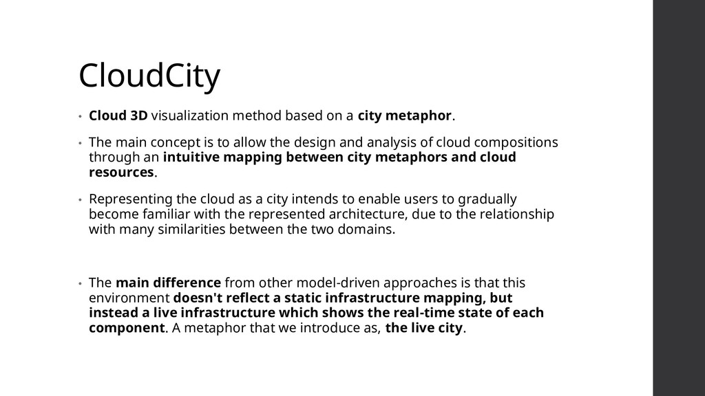 CloudCity • Cloud 3D visualization method based...