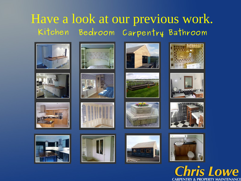 Have a look at our previous work. Kitchen Bedro...