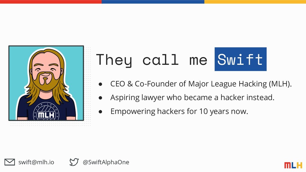 They call me Swift ● CEO & Co-Founder of Major ...