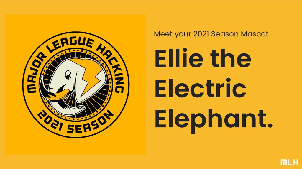 Ellie the Electric Elephant. Meet your 2021 Sea...