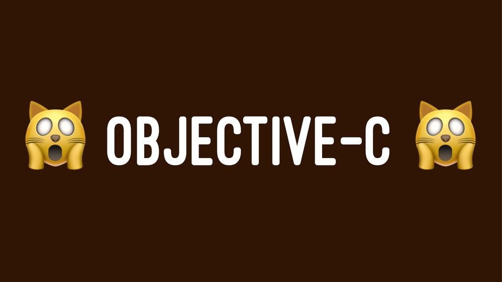 ! OBJECTIVE-C
