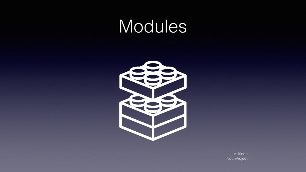 Modules mikicon NounProject