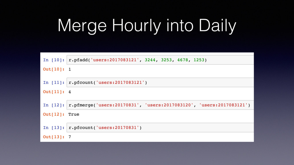 Merge Hourly into Daily