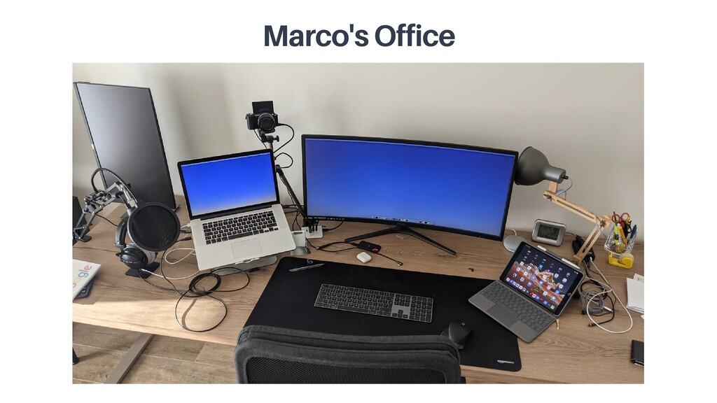 Marco's Office