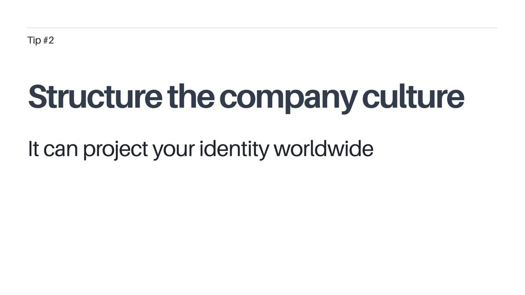 It can project your identity worldwide Tip #2 S...
