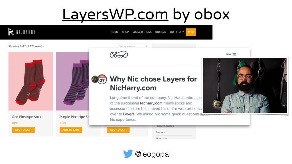 @leogopal LayersWP.com by obox