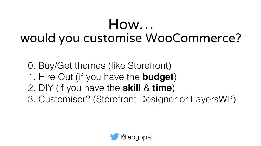 @leogopal How… 0. Buy/Get themes (like Storefro...
