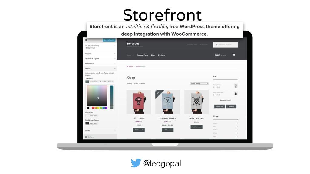 @leogopal Storefront