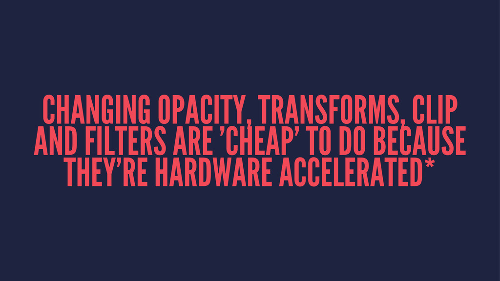 CHANGING OPACITY, TRANSFORMS, CLIP AND FILTERS ...