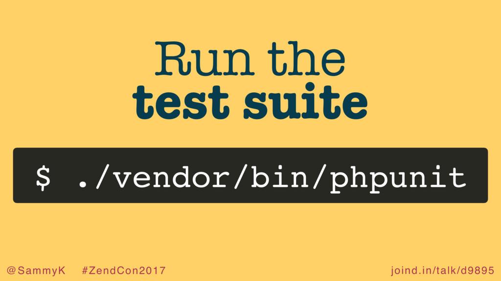 joind.in/talk/d9895 @SammyK #ZendCon2017 Run th...