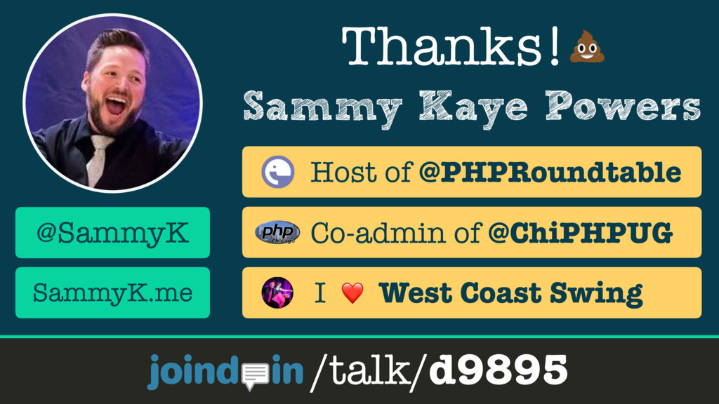 Sammy Kaye Powers Thanks! /talk/d9895 @SammyK S...