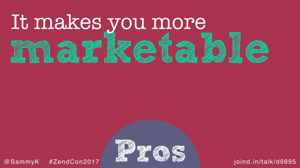 joind.in/talk/d9895 @SammyK #ZendCon2017 Pros m...