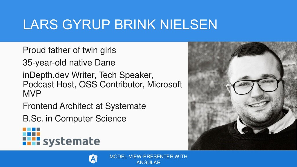 LARS GYRUP BRINK NIELSEN Proud father of twin g...