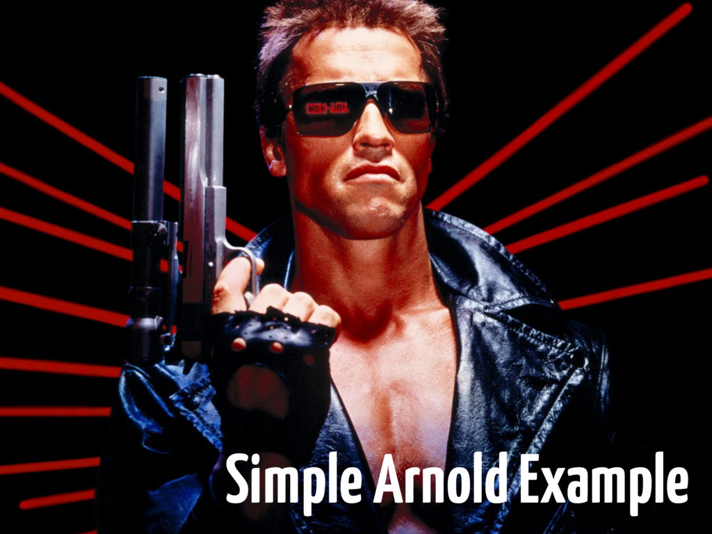 Simple Arnold Example
