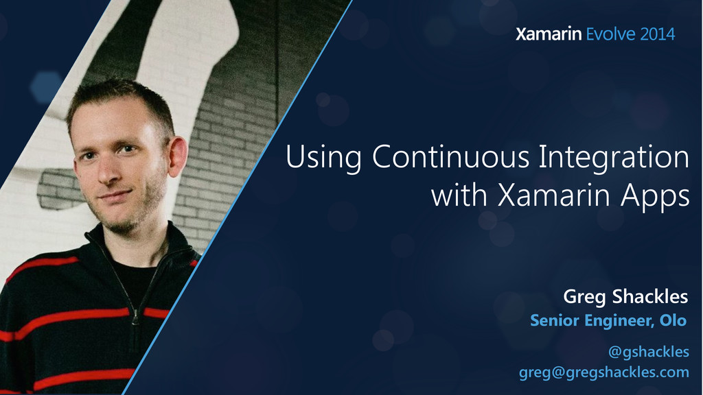 Using Continuous Integration with Xamarin Apps ...