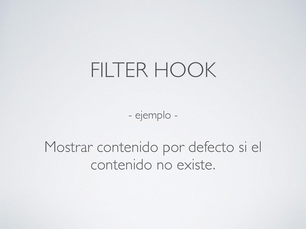 - ejemplo - Mostrar contenido por defecto si el...