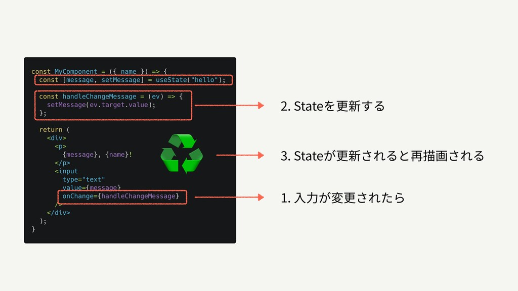 ♻ 1. 2. State 3. State