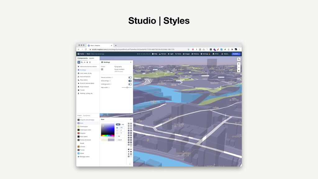Studio | Styles