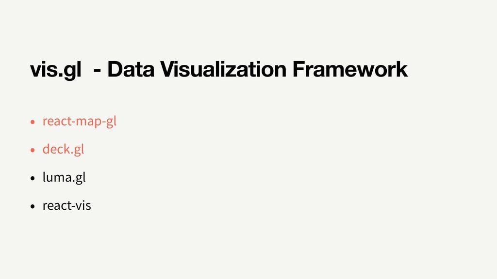 vis.gl - Data Visualization Framework react-map...