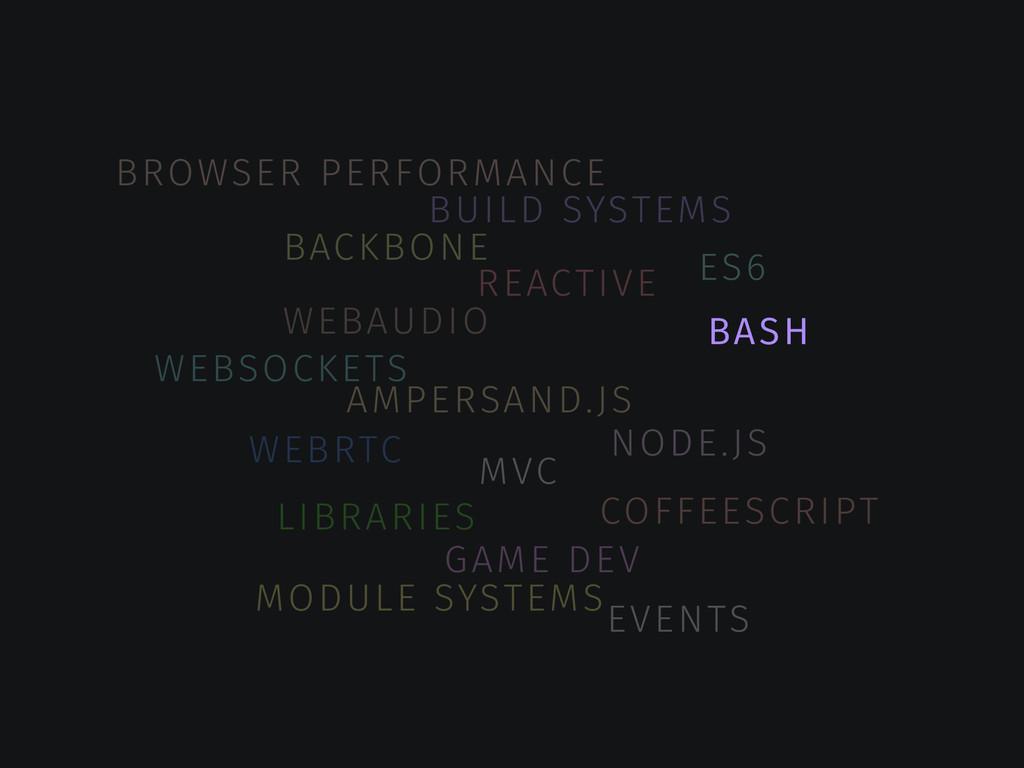 AMPERSAND.JS BACKBONE MVC REACTIVE BUILD SYSTEM...