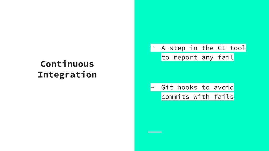 Continuous Integration - A step in the CI tool ...