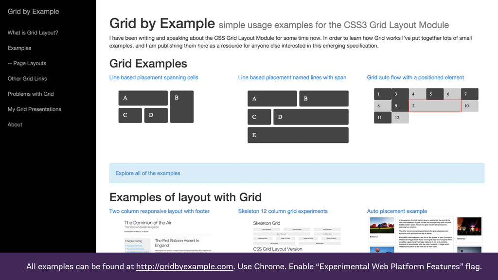 All examples can be found at http://gridbyexamp...
