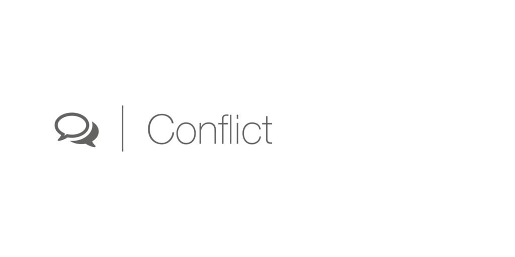 ( Conflict