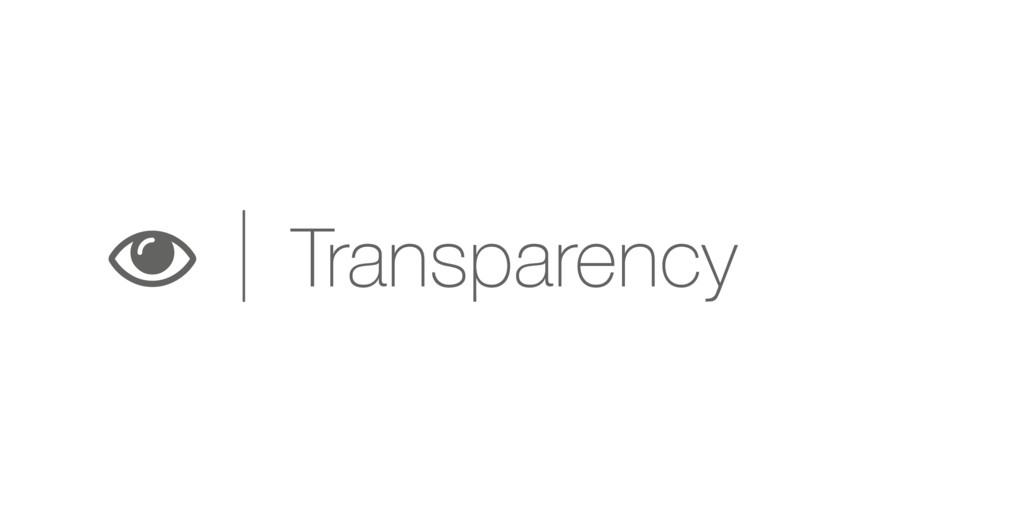 k Transparency