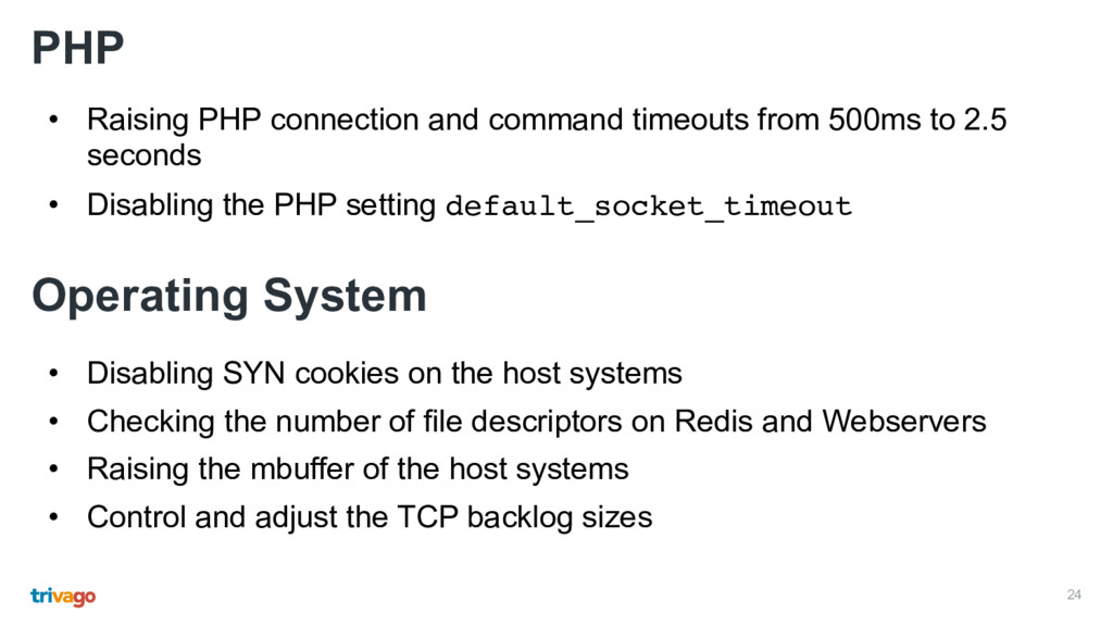 24 PHP • Raising PHP connection and command tim...