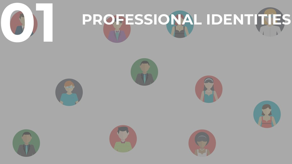 01 PROFESSIONAL IDENTITIES