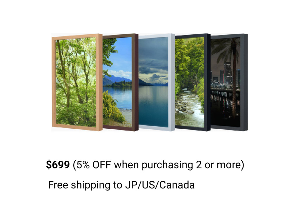 $699 (5% OFF when purchasing 2 or more) Free sh...