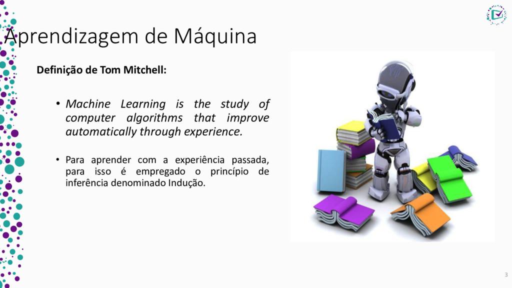 Aprendizagem de Máquina Definição de Tom Mitche...