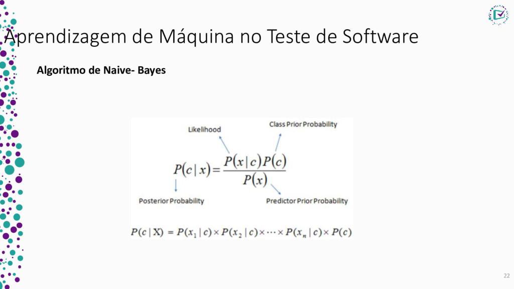 Aprendizagem de Máquina no Teste de Software Al...