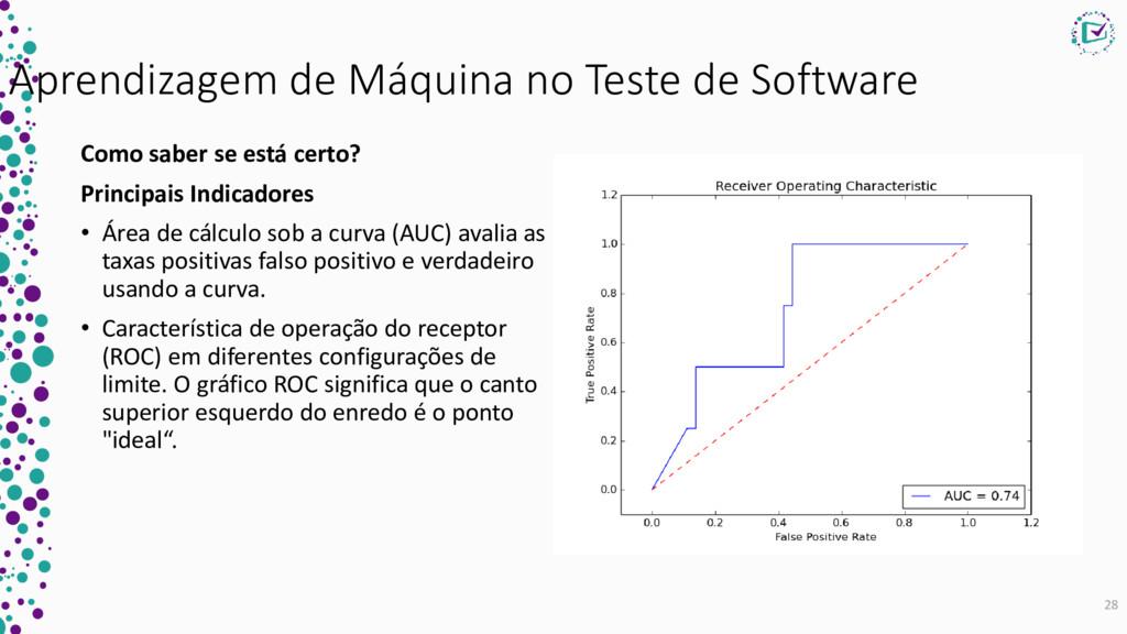 Aprendizagem de Máquina no Teste de Software Co...