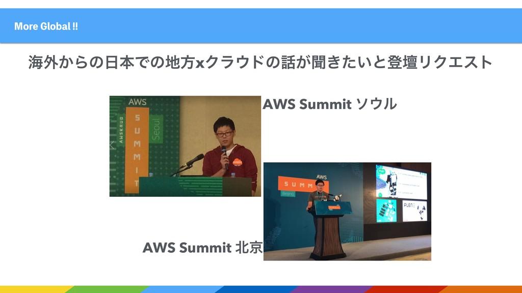 AWS Summit ιϧ AWS Summit ژ .PSF(MPCBM ւ֎͔...