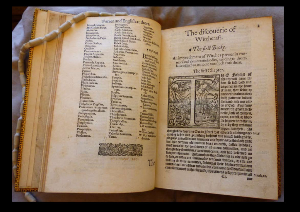 1584 Reginald Scot, Discoverie of Witchcraft, Λ...