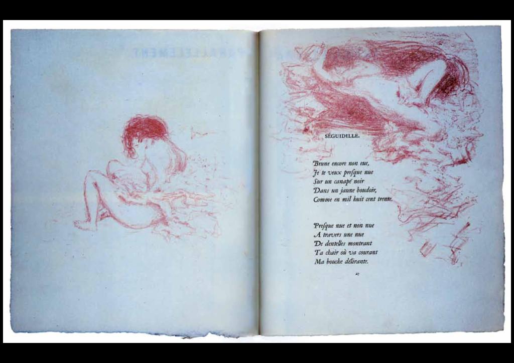 1900 Paul Verlaine, Parallèlement, Ambroise Vol...