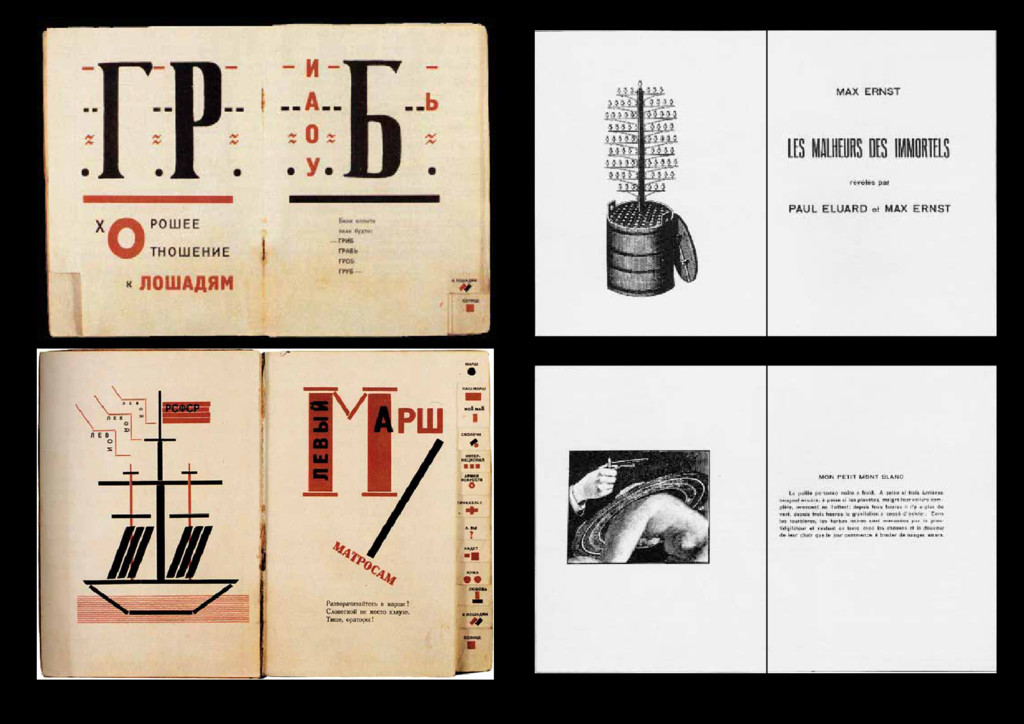 1923 pages by El Lissitzky