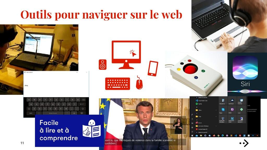 Outils pour naviguer sur le web 11