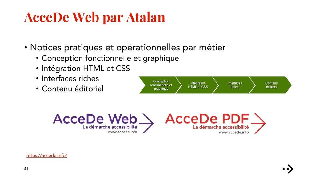 AcceDe Web par Atalan 41 https://accede.info/ •...